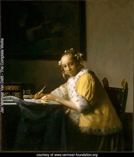 A Lady Writing a Letter 1665-66