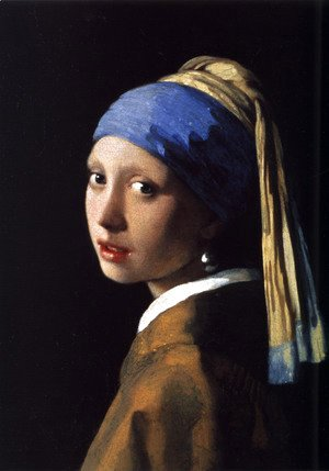 Jan Vermeer Van Delft - Girl with a Pearl Earring c. 1665