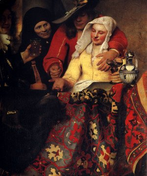 Jan Vermeer Van Delft - The Procuress 1656