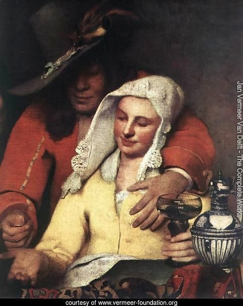 The Procuress (detail-1) 1656