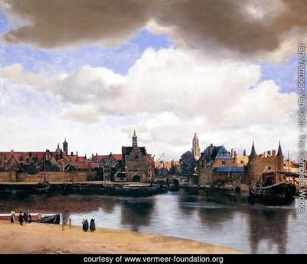 View of Delft 1659-60