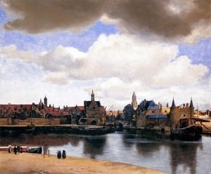 Jan Vermeer Van Delft - View of Delft 1659-60