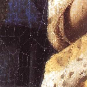 Jan Vermeer Van Delft - The Love Letter [detail: 2]