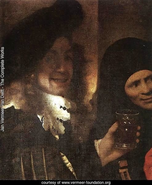 The Procuress [detail: 2]