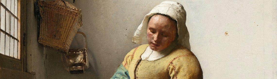 Jan Vermeer Van Delft   The Milkmaid
