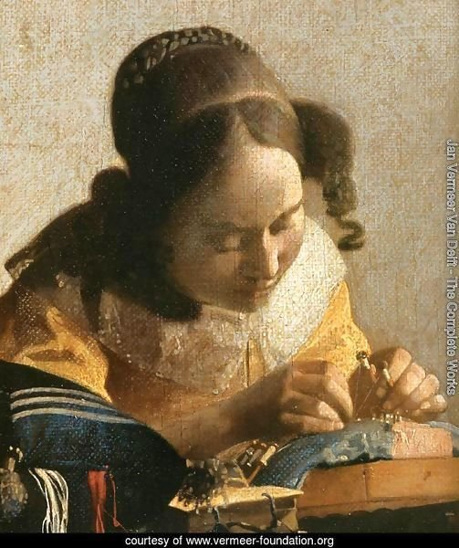 The Lacemaker (detail)