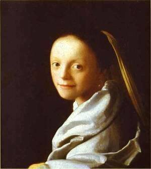 Head Of A Girl 1666-1667