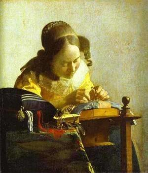 Jan Vermeer Van Delft - The Guitar Player 1672