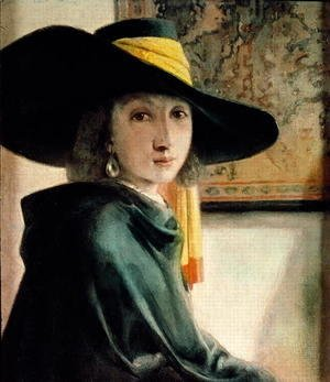 Jan Vermeer Van Delft - Young Girl in an Antique Costume