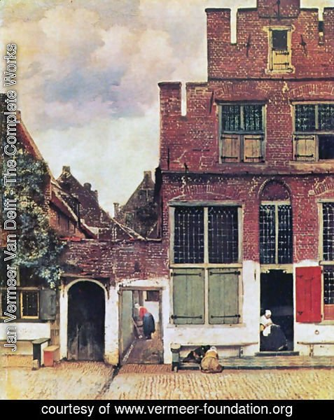 Jan Vermeer Van Delft - The narrow road