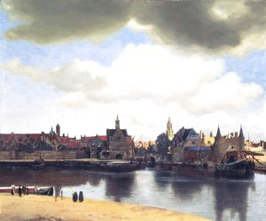 Jan Vermeer Van Delft - View on Delft