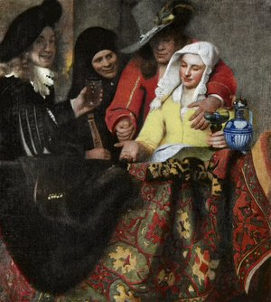 Jan Vermeer Van Delft - The Procuress